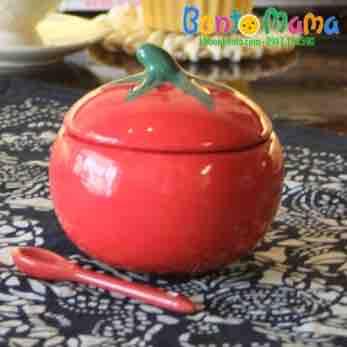Bát cà chua có nắp