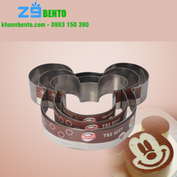 Khuôn Mousse ring Micky 10 inch