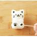 Bộ khuôn ép cơm bento mèo Chibi kèm máy cắt rong biển