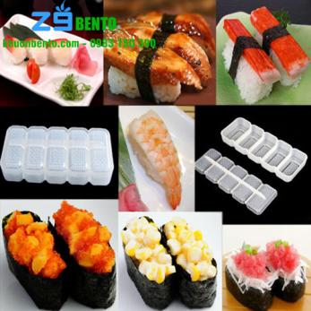 Khuôn ép cơm sushi hình trụ