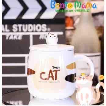 Cốc sứ mèo béo