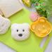 Khuôn ép bánh mì gấu Bear