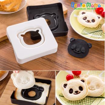 Khuôn ép bánh mì gấu trúc panda