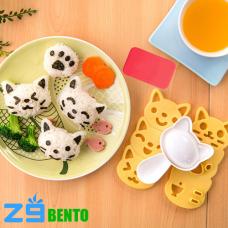Bộ dụng cụ ép cơm bento hình mèo Neko