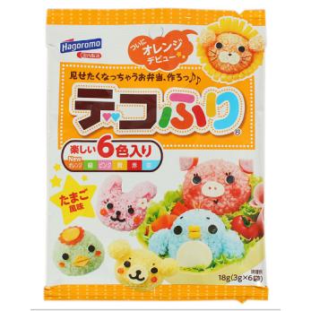 Bộ 6 màu rau củ quả Hagoromo Nhật Bản  tạo màu cơm bento - hương vị trứng