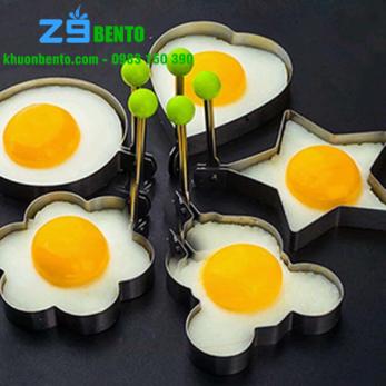 Set 5 Khuôn rán trứng, rán bánh inox