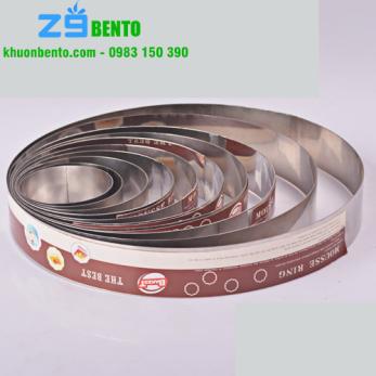 Khuôn Mousse ring tròn 10 inch