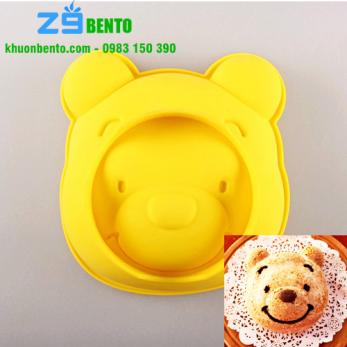 Khuôn silicon gấu Pooh