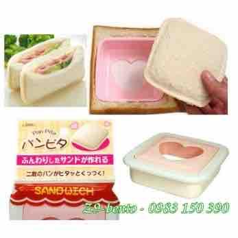 Khuôn ép bánh mì hình vuông